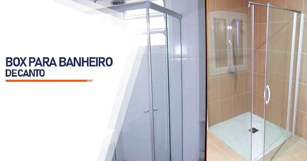 Box de Canto para Banheiro  São José do Rio Preto