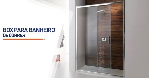 Box de Correr para Banheiro  São José do Rio Preto