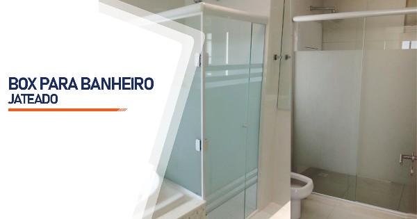 Box Jateado para Banheiro São José do Rio Preto