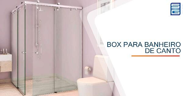 Box para Banheiro de Canto São José do Rio Preto