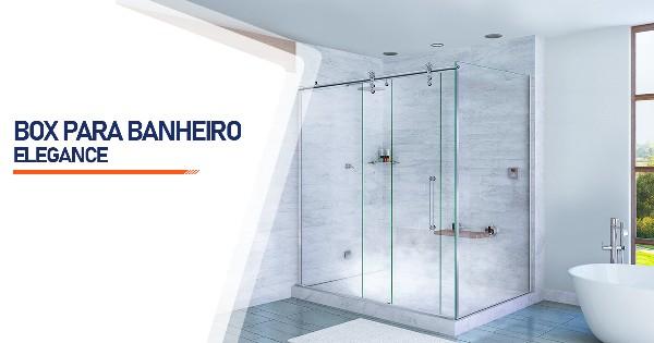 Box para Banheiro Elegance  São José do Rio Preto