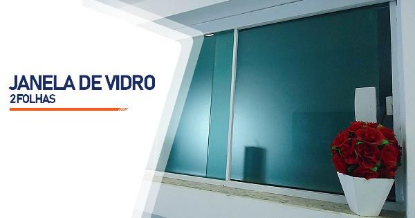 Janela De Vidro 2 Folhas São José do Rio Preto