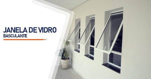 Janela De Vidro Basculante São José do Rio Preto