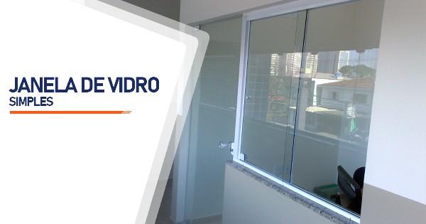 Janela De Vidro Simples São José do Rio Preto
