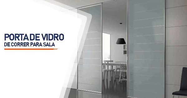 Porta De Vidro De Correr Para Sala São José do Rio Preto