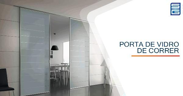 Porta de Vidro de Correr São José do Rio Preto