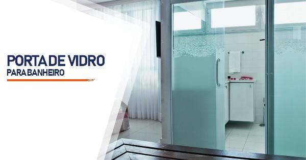 Porta De Vidro Para Banheiro São José do Rio Preto
