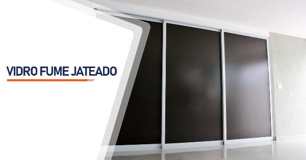 Vidro Fume Jateado São José do Rio Preto
