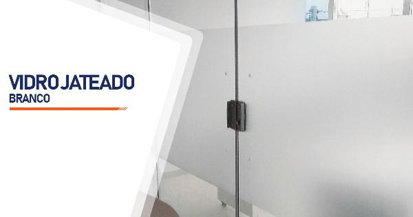 Vidro Jateado Branco São José do Rio Preto